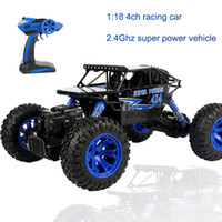 Wholesale Usb Controlled Motor - Remote Off-road Vehicles 2.4Ghz Fast Charge Resistant To Shock Multi-terrain Gun Control Four Climbing Car