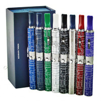 Wholesale Box Weeding - Most Popular Herbal Vaporizer Dry Herb Snoop Dog Pen Ecigarette Glass Atomizer Ecig Vape Band Wee d Vaproizer Box Kit Hot Sell