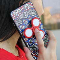 Wholesale Mixed Cellphone Cases - Variety Of LED Fidget Spinner Cellphone Cases Hand Spinners Finger Spinning Top Decompression Fingers Tip Mixed different styles evenly