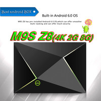 [Genuine] M9S Z8 2GB 8GB Media Box Android 6.0 Smart TV Box Bluetooth voll geladenen Media Player Streaming Player IPTV Set Top Boxen MINI PC