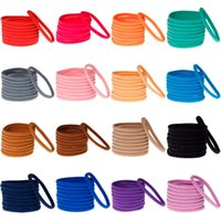 Wholesale Nylon Infant Headbands - Newborn Nylon Headbands Baby Girl Soft Hair Accessories Fashion Infants Elastic Hair bands 23 Colors