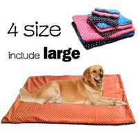 Wholesale Cotton Pet Dog Beds - New Dog House Pets Beds Soft Dot Pattern PP Cotton Pet Cats Mats Dog Beds Cat Pet Products
