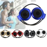 Wholesale Sport Fashion Headphone For Iphone - Mini 503 Bluetooth stereo Headphone Bluetooth stereo V2.1 headset Fashion Sport Running Headsets Studio Music Heaphone With retail package