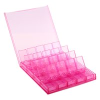Wholesale Storage Plastic Box Beads - Clear Plastic Jewelry Box With 20 Small Pill Bead Storage Container Organizer