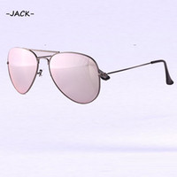 Wholesale Gun Case Green - High Quality Magenta Women Brand Designer UV400 Protection Gun Frame Sun Glasses Fashion Flash Lenses With Box Case