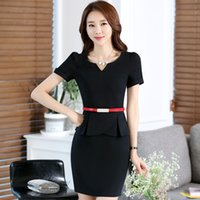 Wholesale Women Dresses Blazers - Hot Selling New Style Slim Fit Polyester Spandex Multicolor S-4XL Business Fashion Short Sleeve Women's Suits & Blazers for Summer