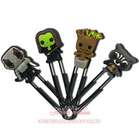 Wholesale Wholesale Paper Clips - MOQ=12PCS Guardians Of The Galaxy Cartoon Bookmarks Paper Clips Office School Supplies Kids Children Party Best Gift Free Shipping