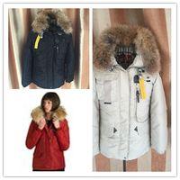 Wholesale Short Leather Jackets Sale - 2017 Hot Sale Luxury Women's denali down Jacket Hoodies Fur Fashionable Winter Coats Warm Parka Free Shopping Top Quality