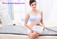Wholesale Detox Massager - Popular Air Pressure Body Slimming Apparatus Weight Loss Pressotherapy Detox Blanket Sauna Spa Massager Cellulite Removal Beauty Equipment