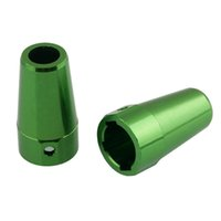 Wholesale Knuckle Electric - RC Green Aluminum Steering Rear Knuckles Arm 2p For AXIAL 4WD 1:10 SCX10 Part