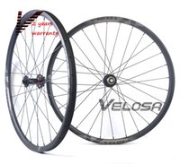 Wholesale mountain bike 29er wheels - 29er MTB XC AM hookless carbon wheels with N791 792 hubs, 29inch mountain bike XC AM wheelset,tubeless compatible, disc brake