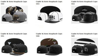 Wholesale Basketball Snap Backs - 2017 summer caps Snapbacks Hat free shipping cayler and sons snapback hats snapbacks caps snap back hat baseball basketball fitted cap