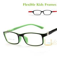 Wholesale Spectacles Frames Wholesale Kids - Wholesale- Children's Spectacle Frame Kids Cute Optical Clear Lens Glasses Frames Lentes Opticos Eyeglasses Z-1822 2016 New
