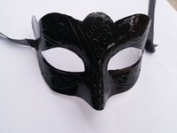 Wholesale most halloween costumes resale online - Mask Women s Venetian Masquerade Party Decorative Mask Mardi Gras Costume One Size Fit For Most Black