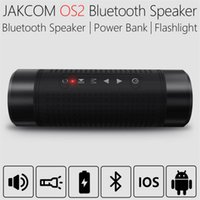 Jakcom OS2 Bluetooth Speaker Outdoor Waterproof 5200mAh Power Bank Bicicleta Subwoofer portátil Bass Speaker LED light + Bike Mount