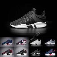 Wholesale Outdoor Equipment Brands - 2017 Three stripes White Mens running support 93 EQT IIII EQUIPMENT orange Sneaker Brand Shoes High quality shoes size eur 36-44