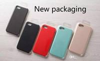 Wholesale Iphone Accessories Silicone Case - Liquid silicone PU phone case Enclosure accessories New for iPhone 7 7plus 6   6S 6plus   6S plus