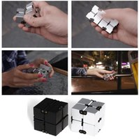 Wholesale Luxury Toys For Kids - Luxury EDC Infinity Cube Mini For Stress Relief Fidget Anti Anxiety Stress Funny