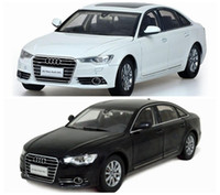 Big Sale Brand New Audi A6L 2012 Alloy Diecast Modell Car 1 18 Scale Collection Brinquedos Two Colors Wholesale and Retail by PaudiModel