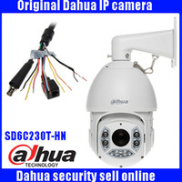Wholesale Speed Dome Bracket - Dahua DH-SD6C230T-HN 2Mp Network Speed Dome 30x optical zoom PTZ ip camera SD6C230T-HN with bracket