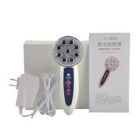 instrumento de mesoterapia al por mayor-7 colores Dispositivo de mesoterapia ultrasónico Equipo de belleza IPL Instrumento de electroporación RF Hogar Rejuvenecimiento de la piel RF Estiramiento facial