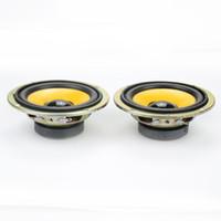 Wholesale Car Theater - Wholesale- 2pcs Full Range Speaker DIY HIFI Loudspeaker for Car Stereo Home Theater 5 W 4 ohm 3 inch Audio Speakers