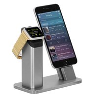Wholesale Iphone Dock Support - For Apple Watch Series 2 Stand,ZIKU Aluminum Charging stand Dock Station -- Support Apple Watch NightStand Mode and iPhone 7 7 plus  6S PLUS