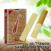 Wholesale Tenor Sax Accessories - wholesale XINZHONG bB 2 1 2 Tenor Saxophone Reeds Sax Reeds Saxofone Reeds Saxphone Accessories 10pcs box