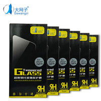 Wholesale Phone Films - DWZ For I-phone 7 LG Aristo V3 Stylo 3 Tempered Glass Screen Protectors For I-phone 6 2.5D Explosion Shatter Screen Protector Film In box