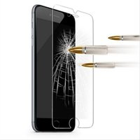 Wholesale Iphone 5s Mm - 9H Screen Protecter Tempered Glass Ultra-thin 0.26 mm & Reinforced Front Film Edge 2.5D for iPhone 5 5s 6 6s Plus