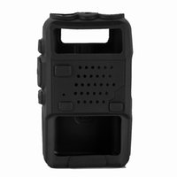 Wholesale baofeng uv 5ra accessories online - New Soft Handheld Rubber Silicone Case For Baofeng UV R UV RA UV RB UV RC UV RD UV RE BF F8 THF8 Radio Bag Case