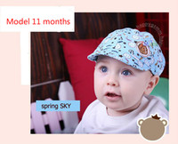 Wholesale boy s cap - Spring and Autumn section of children 's base caps children' s caps