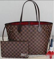 Wholesale Diamante Shape - Fashion Women Bag Shoulder Bags Brand L Designer Never Full Lous V Speedy Mono Alma Leather Handbags gram Vutton Ladies Tote Zipper Bags