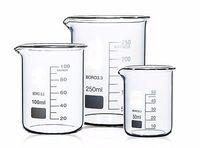 Wholesale Chemistry Wholesale - Wholesale- 100+150+250+400ml Low Form Beaker Chemistry Laboratory Borosilicate Glass Beaker Thickened with spout FREE SHIP