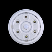Wholesale Pir Round - Wholesale- Brand New 6 LED DC 3-6V Wireless Infrared PIR Auto Sensor Motion Detector Battery Powered Door Wall Light Lamp Stock Offer Hot