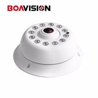 Wholesale Dome Night Vision Cams - HD Onvif 2MP 1080P IP Camera PoE IR 10m Night Vision Panorama 360 Degree Fisheye Dome Network IP Cam XMeye P2P