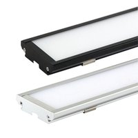 Wholesale Panel Mounted Switches - Dust-proof Led ceiling lights 25W 4ft 120cm 2000Lm AC85-265V Warm Cool White Ultra thin rectangle panel light batten tube surface mounted