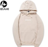 Wholesale Korean Men S Sweaters - Korean version of the couple loaded hop-ele-ss sweater hooded men and women with hooded suit plus cashmere sweater