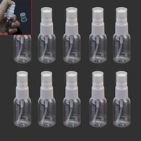 Wholesale Empty Plastic Water Bottles - Spray Refillable Bottles Plastic Empty Cosmetic Container Travel Makeup Setting Set Refill Beauty Water Spray Bottle 30ml F20171260