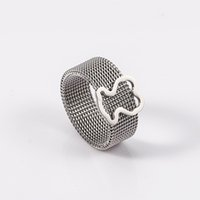 Wholesale TL stainless steel cute ring for women simple design harmless for skin featured item new edition