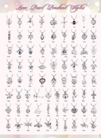 75 styles pearl cage pendant Love wish gem beads locket cages DIY charm pendants mountings For necklaces Jewelry in Bulk 30pcs lots
