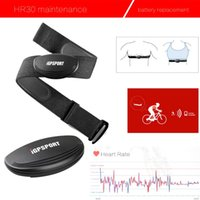 Wholesale Bicycle Computer Heart Rate - Newest iGPSPORT HR35 Bike Speedometer Dual Band Ant+ Heart Rate Monitoring Chest Strap Bicycle Computer Bluetooth Fitness Cycling Speedomete