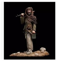 Wholesale Resin Figure Model Kit - Wholesale- 1 35 Scale chief in Afghanistan in the Middle East Figure Resin Bust Model resin kit Free Shipping