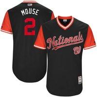 Wholesale Mouse League - Washington Nationals #2 Adam Eaton Mouse 2017 Little League World Series Players Weekend Authentic Baseball Jerseys