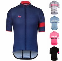 Wholesale Bicycles Direct - Summer Rapha cycling jersey bicycle short sleeve bib pants riding bike equipment sporswear custom factory direct sales