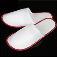 Wholesale Towel Slippers Wholesale - Wholesale Price Mix Color Towelling Hotel Disposable Slippers Terry Spa Guest Shoes For Men And Women