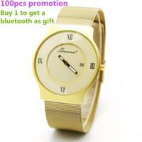 Wholesale Super Slim Watches - Dropship USA Brand Seasonal Super Slim Top Quality Japan Movement Relojes Hombre Luminous Wristwatch G11 Top Steel Strap Quartz Watch