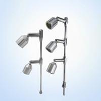 ingrosso ha condotto le luci del posto interne-Led luci Contatore Spot Spot Lampada moderna altezza della lampada regolabile direzionale Spotlight coperta con 2 LED a luce bianca calda bianca