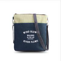Wholesale Ma Body - Wholesale- 2016 Hot Fashion Canvas Women Crossbody Bag Female Small Stripe Pattern Messenger Bag Ladies Big Purse Bolsa Feminina Sac A Ma