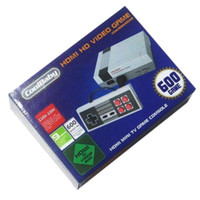 Wholesale Wholesale Game Player - HD HDMI Out Retro Game Player Family TV Video Handheld Console Entertainment System Built-in 600 Classic Games For NES Mini PAL&NTSC
